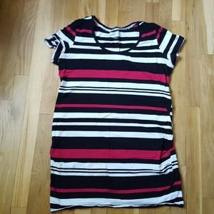 Maternity tee shirt dress.  Large.
